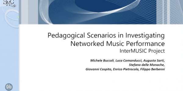 O2 – Pedagogical Scenarios in Investigating Networked Music Performance