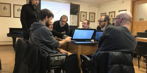 INTERMUSIC PLATFORM TRAINING SESSION Milan,  G.Verdi Conservatoire, January 14-18, 2019